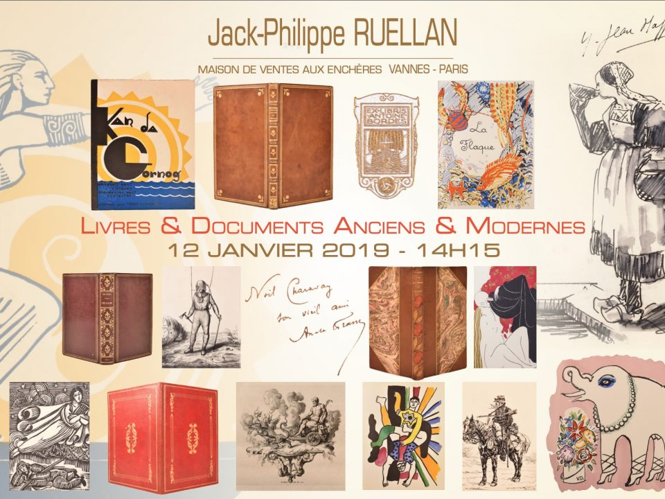 jack philippe ruellan ventes aux ench res publiques vannes et paris. Black Bedroom Furniture Sets. Home Design Ideas